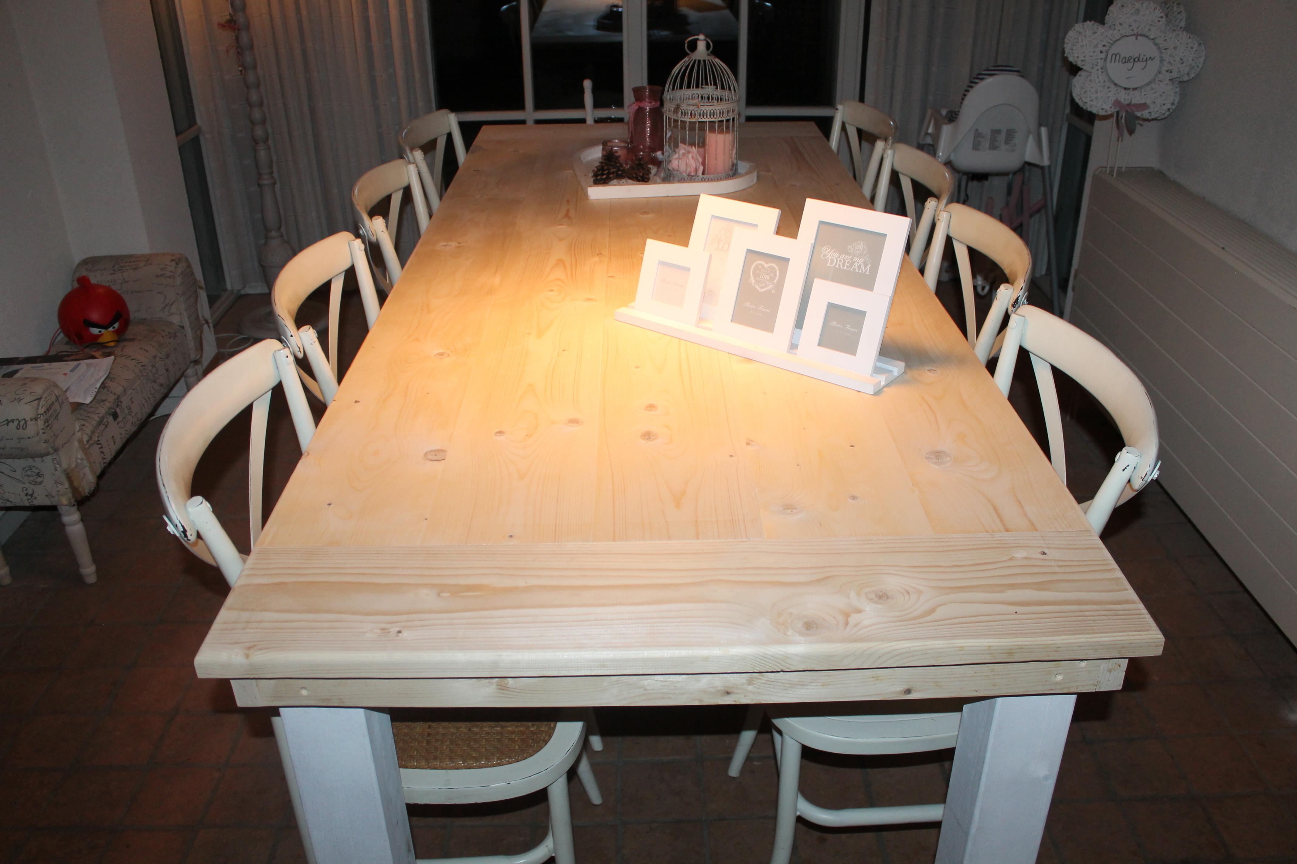 Steigerhouten tafels goedkope steigerhouten tafels