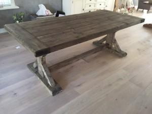 Houten tafel goedkoop u materialen voor constructie